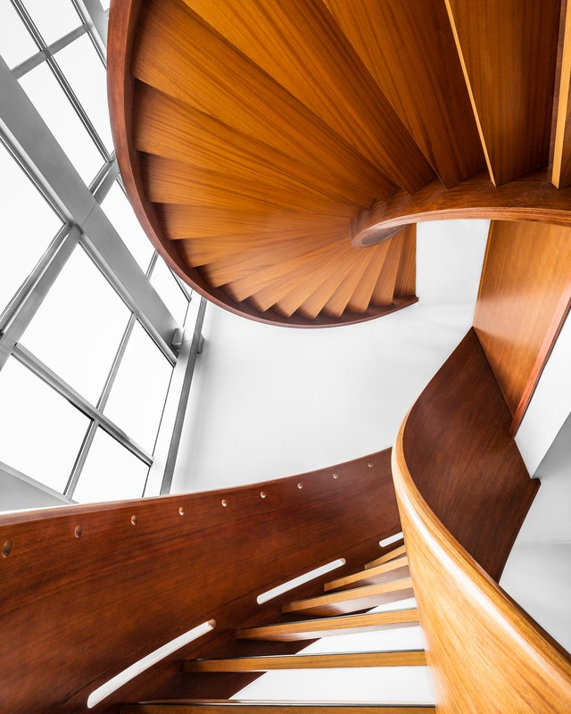 ruimtebesparende trap bij weinig ruimte