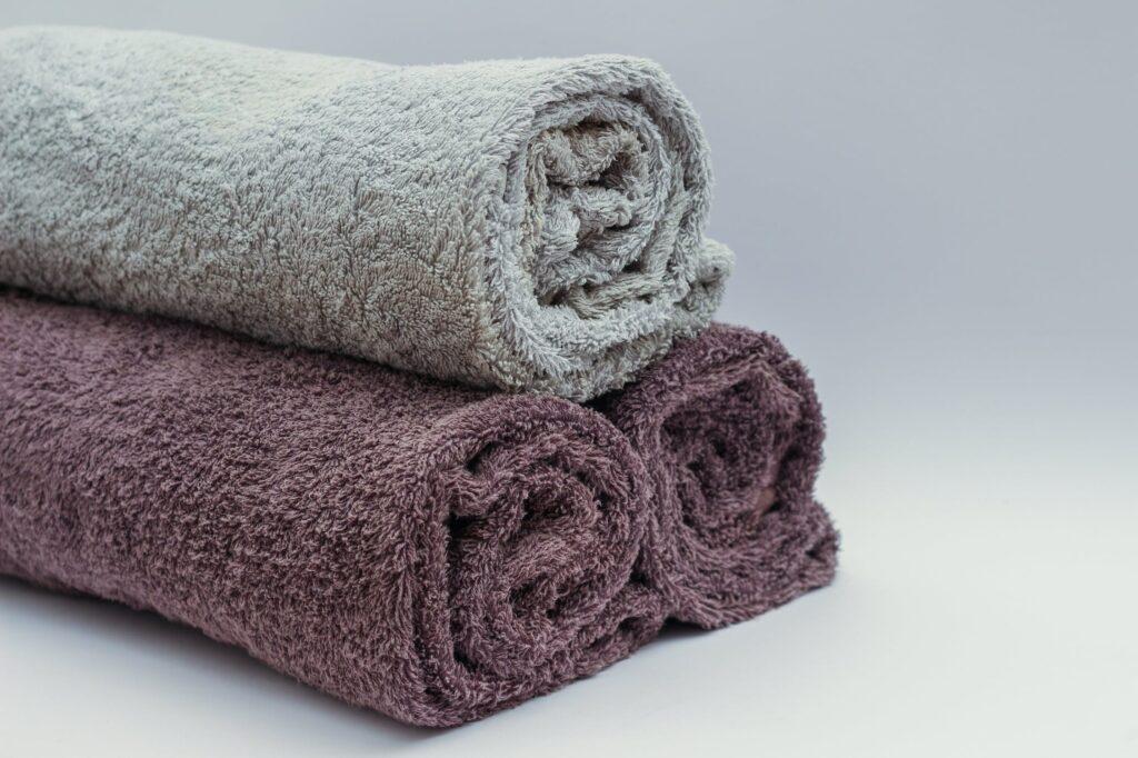 handdoeken stapel